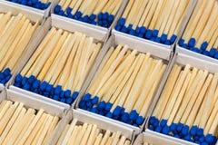 Matchboxes с спичками Стоковая Фотография RF