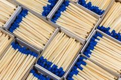 Matchboxes с спичками Стоковые Изображения RF