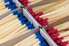 Matchboxes с спичками Стоковая Фотография