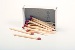 The matchboxes Royalty Free Stock Photography