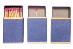 Matchboxes Status Royalty Free Stock Photos