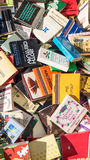 Matchboxes Stock Photography