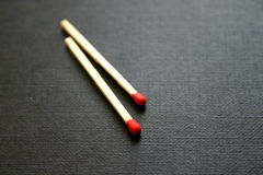 Matches. Fire, matchwood, burn, red royalty free stock image