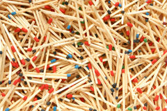 Matches. For backgrounds or textures Royalty Free Stock Photography