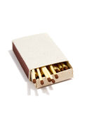 Matches. It is opened box with matches. It is theme of fire Royalty Free Stock Photos