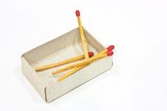 Matches royaltyfri foto