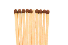 Matches. On a white background Stock Image