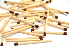 Matches. A collection of matches to enlight royalty free stock photos