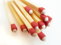 Matches. A bundle of matches Royalty Free Stock Image