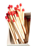 Matches in a box Stock Photography