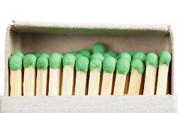 Matches in a box Royalty Free Stock Photo