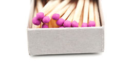 Matches box Royalty Free Stock Image