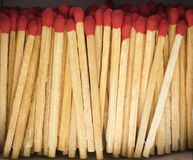Matches in The Box Royalty Free Stock Photo