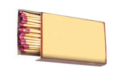 Matches in box Royalty Free Stock Photography