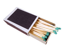 Matches in box Stock Image