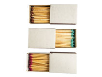 Matches in box Royalty Free Stock Image