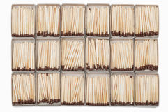 Matches in boxes Royalty Free Stock Photography