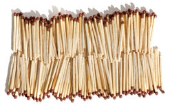Matches as background Royalty Free Stock Photo