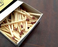 Matches closeup Royalty Free Stock Photography