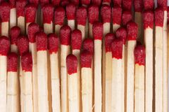 Matches closeup Stock Images