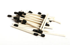 Matches. Conception for groupe and team activities royalty free stock photography