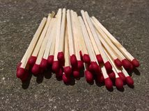 Matches the Heap Royalty Free Stock Photo