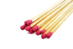 Matches isolated. Royalty Free Stock Photography