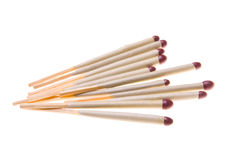 Matches isolated on white Royalty Free Stock Photos