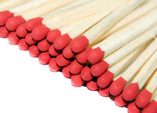 Matches. Isolated on white background royalty free stock photography