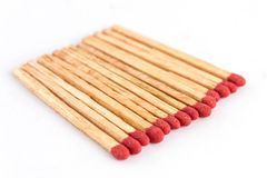 Matches isolated Royalty Free Stock Photography