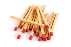 Matches isolated Stock Images