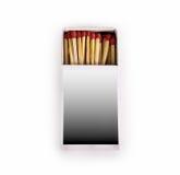 Matches isolated on white background Stock Photos