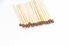 Matches isolated Royalty Free Stock Images