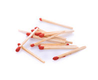 Matches isolated on white Royalty Free Stock Photo