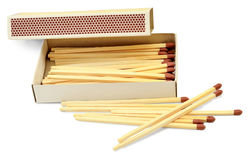 Matches for kindling of the hearth Royalty Free Stock Image