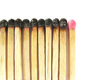 Matches - last chance Royalty Free Stock Images