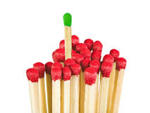Matches - leadership concept Royalty Free Stock Images