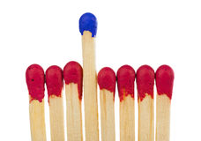 Matches - leadership or inspiration concept Royalty Free Stock Photography