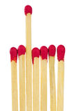 Matches - leadership or inspiration concept stock photography