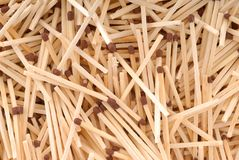Matches many Royalty Free Stock Photos
