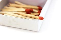 Matches. Photo stock isolated background Stock Photo