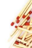 Matches. Photo stock isolated background Stock Photos