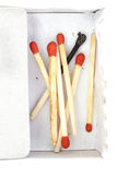 Matches. Photo stock isolated background royalty free stock photo
