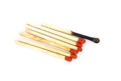 Matches. Photo stock isolated background Stock Image