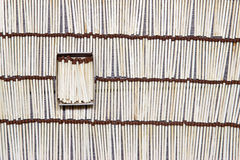 Matches rows folded. Stock Photography