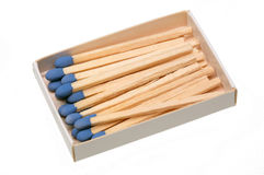 Matches,. A tool for starting a fire Stock Image