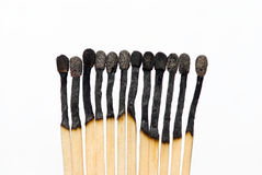 Matches white Royalty Free Stock Image
