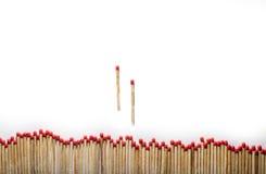 Matches on white Royalty Free Stock Photo