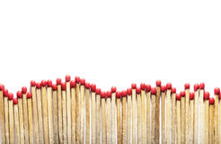Matches on white Royalty Free Stock Photography