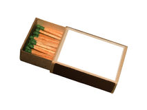 Matches  wooden Royalty Free Stock Photos